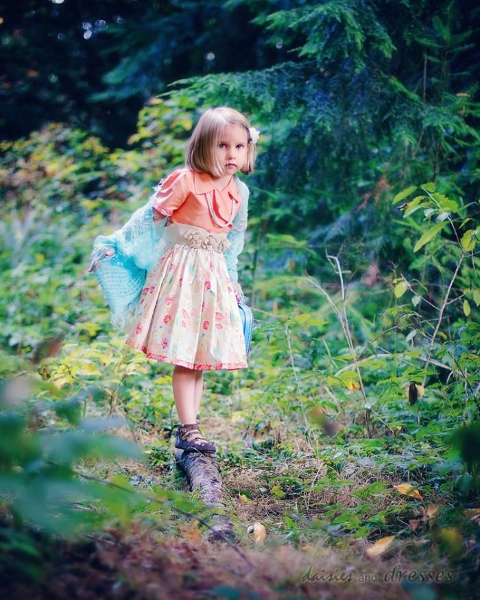 Jane Dress: daisies and dresses