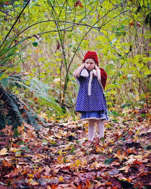 Little Red: daisies and dresses