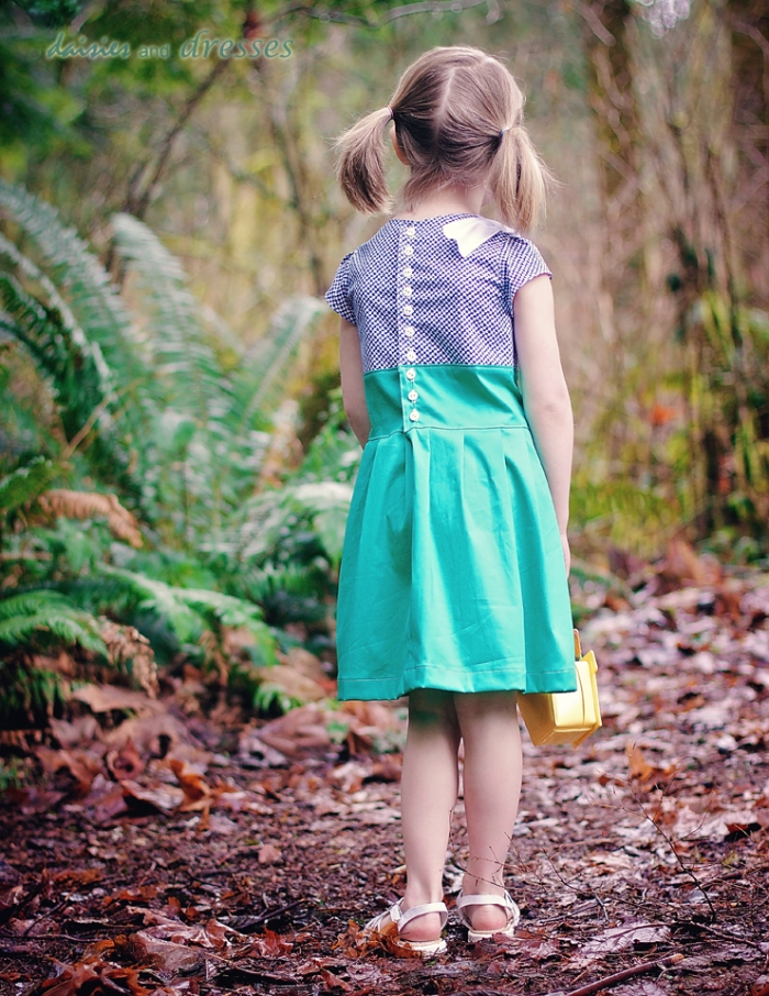 Sailing into Spring : daisies and dresses