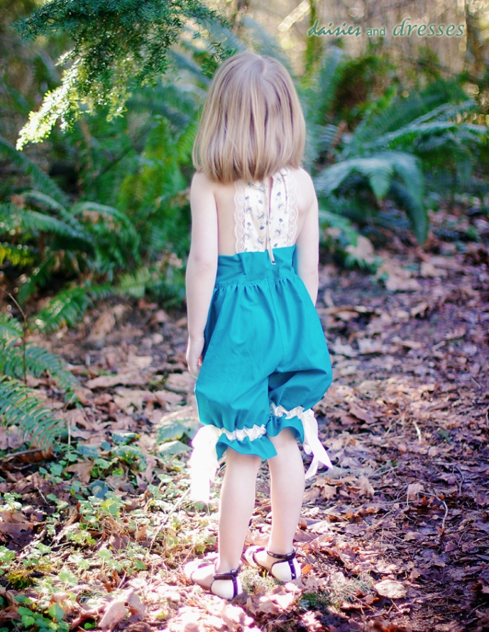 Haven romper: daisies and dresses