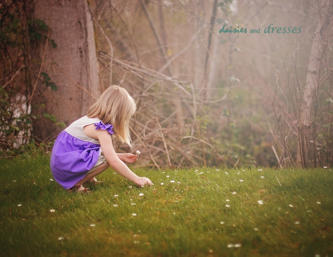 felicia dress: daisies and dresses