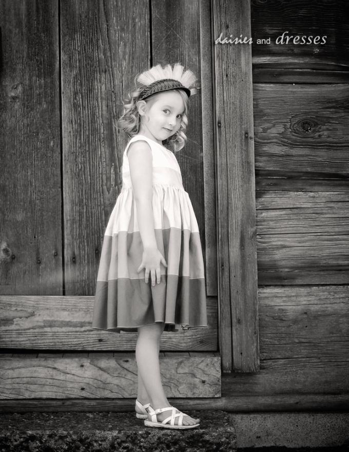 escher: daisies and dresses