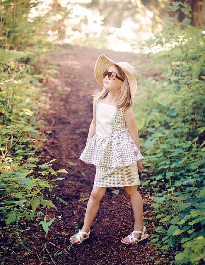Rose Dress: daisies and dresses